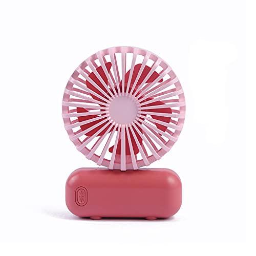 EWTY Mini - Mini - Ventilador de Mano, Tres Posiciones, Velocidad Ajustable del Viento, sin Ruido, Mini - Movimiento, Lindo Ventilador, se Puede Poner en su Bolsillo ForbiddenCityRed