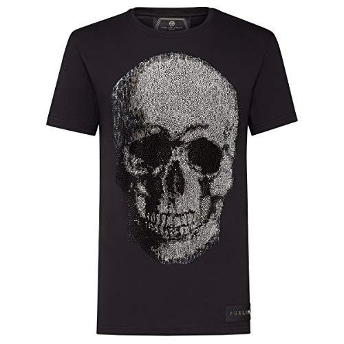 philipp Plein camiseta Platinum Negro f18°C mtk2497pjy002 Negro  L