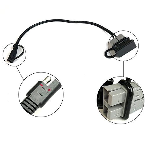 PowerECO SAE to Anderson Adapter for Portable Solar Panel Kits