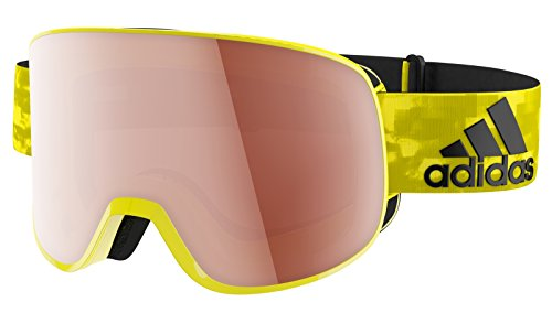 Adidas Brille Skibrille Googles ad81 PROGRESSOR C bright yellow shiny 6052