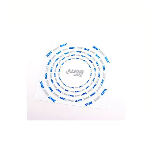 Buy DHS 5 Pcs Table Tennis Paddle Ping Pong Racket Rubber Protector Sheet