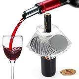 YOBANSA Set di 12 versatore di vino,versatore di vino aeratore,accessori per il vino(style 01)
