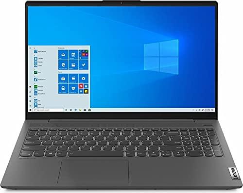 Lenovo (15,6 Zoll FullHD matt) Laptop (AMD Ryzen 5 4500U 6X 2.3 GHz, 8GB DDR4 RAM, 256GB M.2 SSD, AMD Radeon Graphics Windows 10 Pro) grau