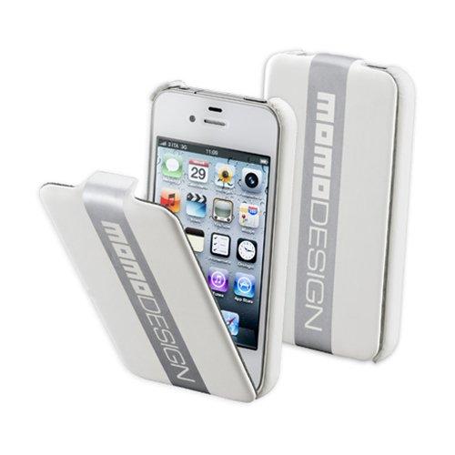 Cellularline Momo Design Libro Plata, Color blanco - Fundas para teléfonos móviles...