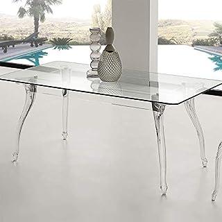 M-029 Table à Manger en Verre Design CHARLYNE