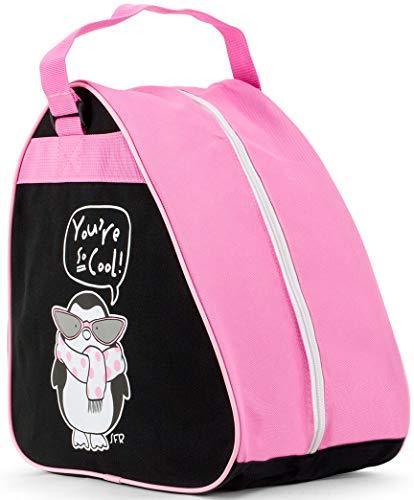 Sfr Skates Junior Ice Skate Bag Tasche für Skates Unisex Kinder Jugend Mehrfarbig (Penguin), Einheitsgröße