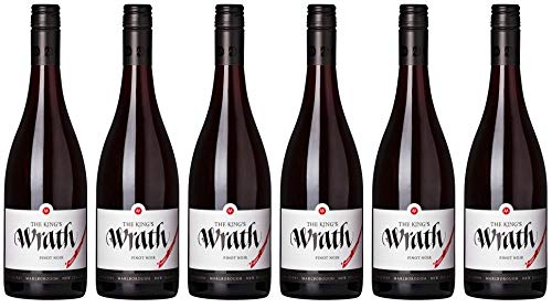 6x The Kings Wrath Pinot Noir 2017 - Weingut Marisco, Marlborough - Rotwein