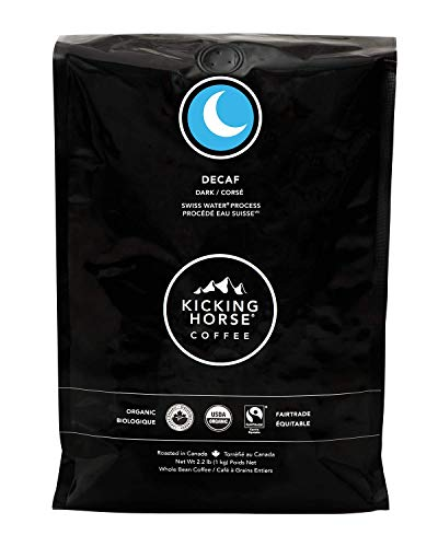 Kicking Horse Coffee, Decaf, Swiss Water Process, Dark Roast, Whole...