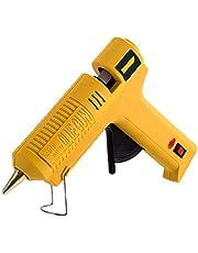 Varm smältlimpistol, uppvärmd smältlimpistolpaket, med limpinne, som används för skola DIY Crafts-projekt, Hem / Kontor Snabbreparation