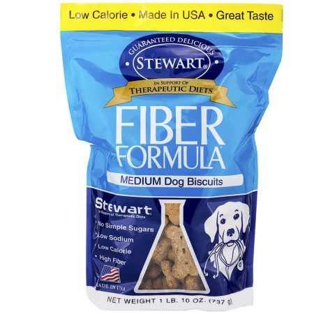 Stewart FiberFormula Medium Dog Biscuits 1 LB. (10 oz)