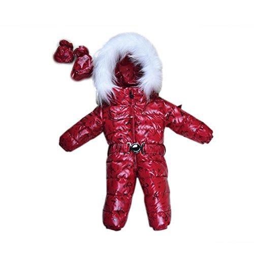 - 30 °C babymeisjes overalls winter babykleding, mantel sneeuw dragen donsjack, sneeuwpakken voor kinderen jongens meisjes kleding waterdicht snowsuits jumpsuits