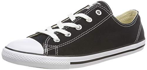 Converse Damen All Star Dainty Ox Sneaker, Schwarz (Noir), 37.5 EU
