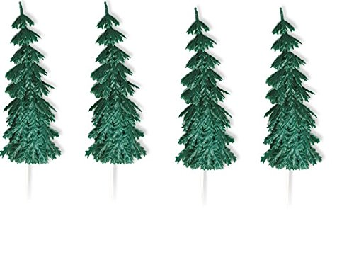Oasis Supply Evergreen Tree Cake Decorating Pick, 4-Inch