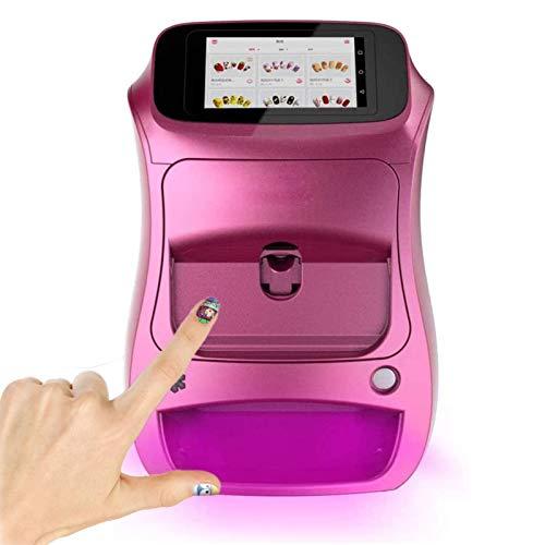 3D Stampante per Unghie Macchina Automatico Pittura per Unghie Macchina con Toccare Schermo, Professionale Digitale Nail Art Stampante Supporto Wi-Fi Fai da Te,1
