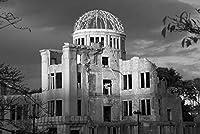 ERZAN大人のパズル1000広島平和記念館B&W原爆ドーム減圧ジグソーおもちゃキッズギフト