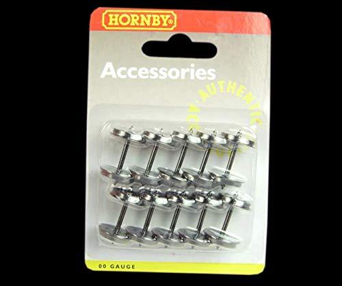 Hornby-14.1mm 4 Trou Roues, R8234