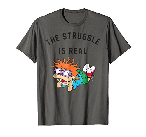 Rugrats Chuckie Finster The Struggle T-Shirt