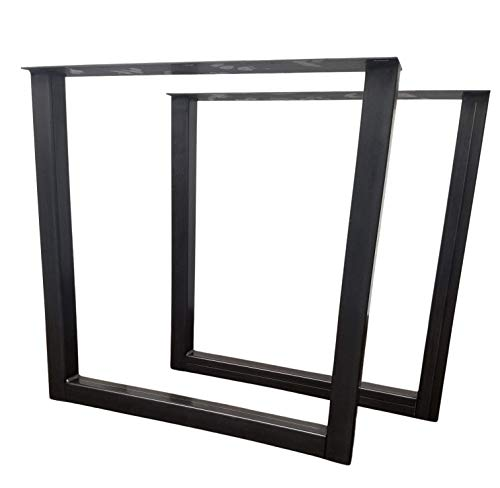 Economy Style - Heavy Duty Square Style Metal Table Legs