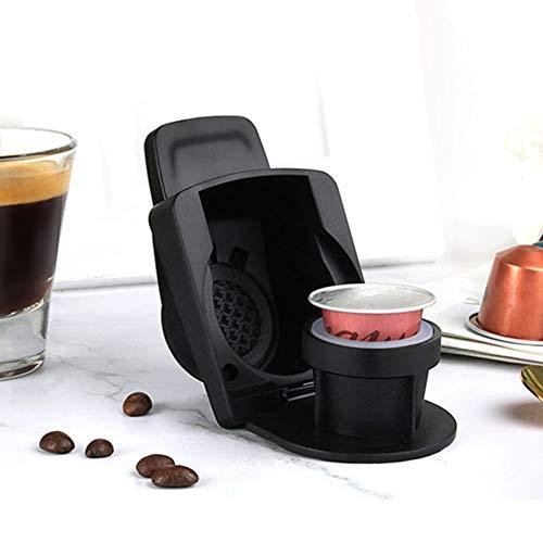 JAMAN Adaptador de cápsula para Nespresso, Bandeja de conversión de cápsulas Reutilizable, Accesorios para máquina de café Espresso portátil, Viajes, Camping o Uso de Oficina