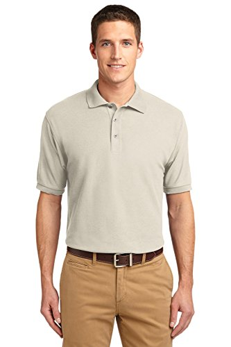 Port Authority® Silk Touch™ Polo. K500 Light Stone L
