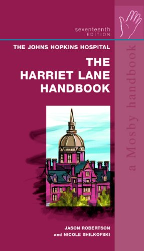 The Harriet Lane Handbook: A Manual for Pediatric House Officers, 17th Edition