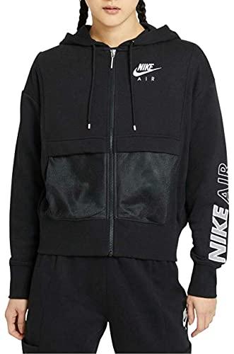 Nike W NSW AIR FZ TOP FLC, gelb(gelb), Gr. M