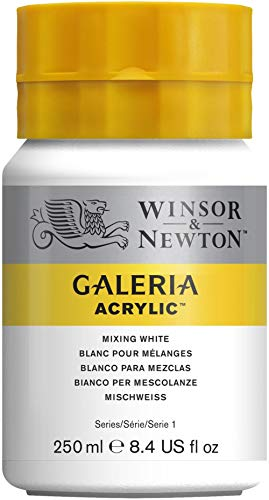 Winsor & Newton Galeria Peinture acrylique 250 ml Blanc Melange