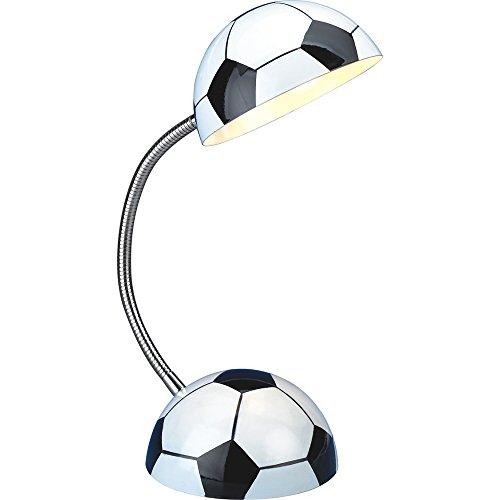 Eastlion Kinder Flexible Fussball Tischleuchten Schreibtisch Lampe Nachttischlampen
