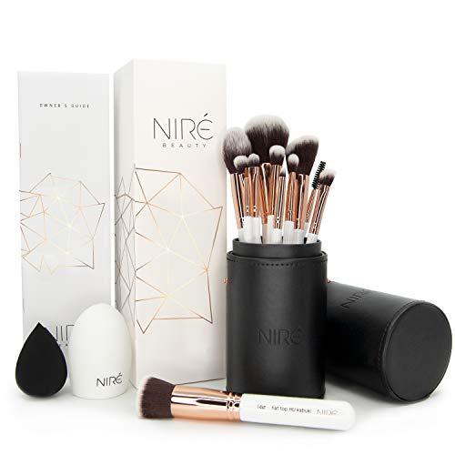 Niré Beauty Make-up-Pinselset Artistry: vegane Pinsel in einem stylischen Etui, mit Niré Beauty...