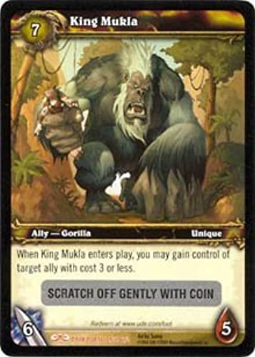 King Mukla World of Warcraft WOW Loot Card - Guaranteed Unroteemed by upper deck