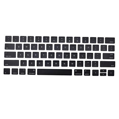 perfk Keycap Tapa de Reemplazo de Teclas de Teclado, Tapa Protectora de Teclado KeyCaps para Macbook Pro 13 A1706