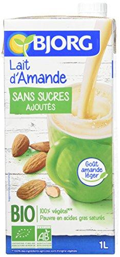 Bjorg Lait d'Amande Sans Sucres ajoutes Bio 1 L - Lot de 6