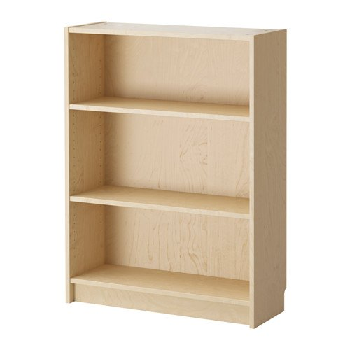 BILLY de IKEA - librería, 80 x 28 x 106 cm - chapa de abedul
