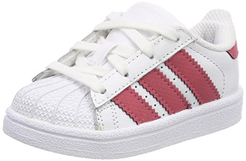 adidas Superstar I, Chaussons Garçon Unisex Kinder, Blanc (Ftwbla/Ftwbla/Negbás 000), 22 EU