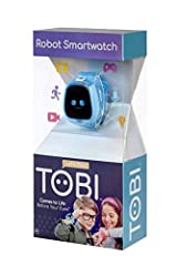 COMES TO LIFE BEFORE YOUR EYES! Tobi Robot Smartwatch has a playful personality, moving robot arms and legs, fun sound effects, and 100+ expressions. Helps kids learn to tell time featuring stopwatch, timer, alarm clock, calendar, reminders, and 50+ ...