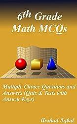6th Grade Math MCQ Download (488 MCQs)
