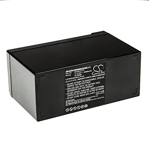 vhbw Batería recargable compatible con Flymo Contour PowerPlus Cordless CCT250 herramientas eléctricas (6000 mAh LiFePO4 12,8 V)