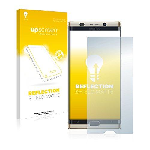 upscreen Entspiegelungs-Schutzfolie kompatibel mit Gionee M2017 – Anti-Reflex Bildschirmschutz-Folie Matt