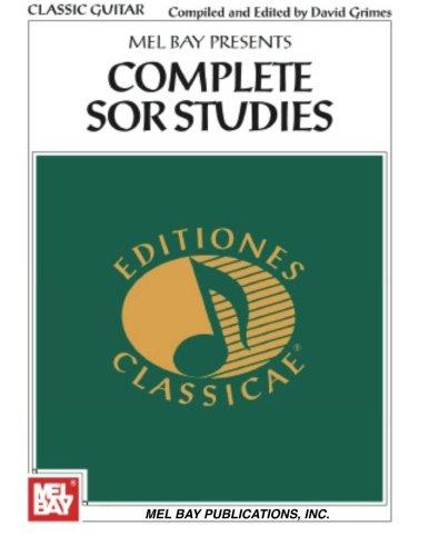 Complete Sor Studies for Guitar (Editiones Classicae)