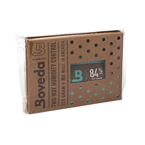 Boveda 葉巻用 84-RH 2-ウェイ 湿度 コントロール ヒュミドール 調味料 サイズ 320 使用 100-カウント シガー ヒュミドール 適切 季節 木材 ヒュミドール 14 日 1-カウント