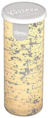 Kleenex Chusteczki higieniczne okrągłe pudełko do samochodu opakowanie 8 sztuk (po 34 chusteczki)