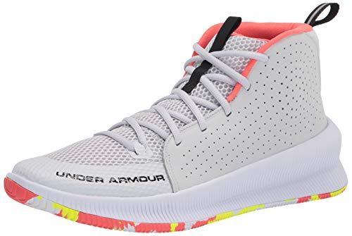 Under Armour Jet Zapatos de Baloncesto para Hombre, Color Gris, Talla 41 EU