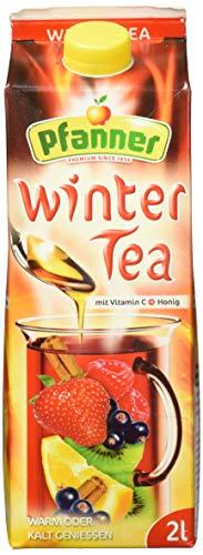 Pfanner Wintertea mit Vitamin C und Honig, 6 x 2 l Packung