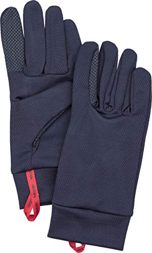 Hestra Touchscreen-Handschuhe: Touch Point Dry Wool Liner Base Layer Run Wandern Ski, Navy, 11