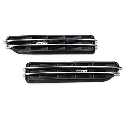YXNVK Car Air Flow Side Fender Vents Mesh Sticker Grille,For BMW E60 M5 E61 E39 E90 M3 E46
