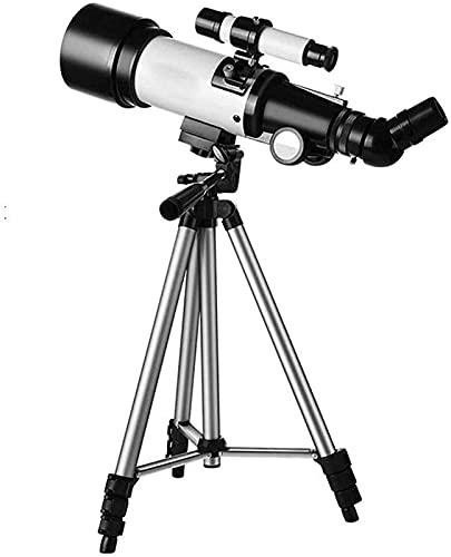 MWKL Telescopio Profesional de Viaje de Calibre 50-100 mm, telescopio Refractor portátil, telescopio HD para observar Las Estrellas para Estudiantes Adultos, telescopio Ideal