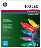 Nicolas Holiday GE97135 2.7 x 8.5 in. GE Multi Energy Smart Constant On Colorite LED Miniature Light Set - 100 Count