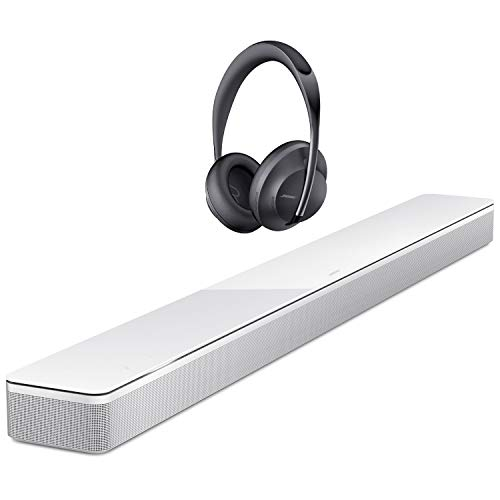 Why Should You Buy Bose Soundbar 700, Arctic White Headphones 700 Noise-Canceling Bluetooth Headphon...