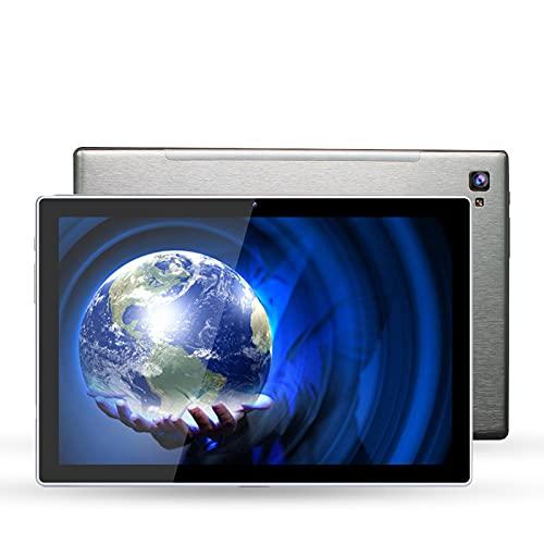 ECO-T Tableta 10.1, Pantalla HD de 10.1', 64 GB, WiFi de Marca Dual Colorido de 2.4G y 5.0G, Tableta Ultrafina para la educación de Estudiantes