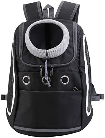 Mogoko Comfortable Dog Cat Carrier Backpack Puppy Pet Front Pack with Breathable Head Out Design product image